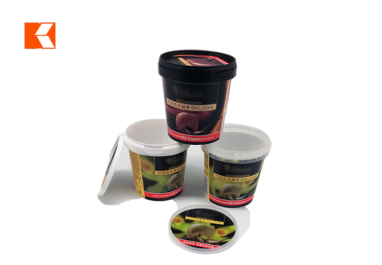 500ml IML ice-cream cup