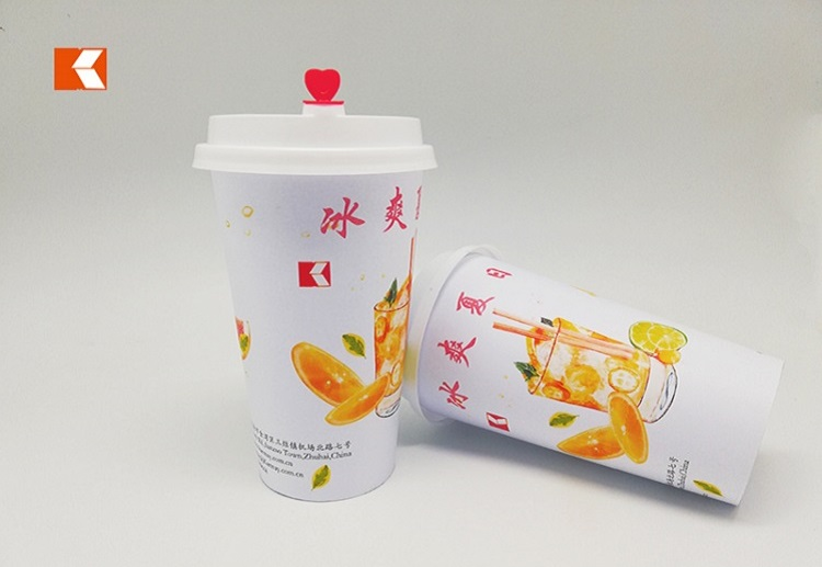 500ml drinks cup with IML